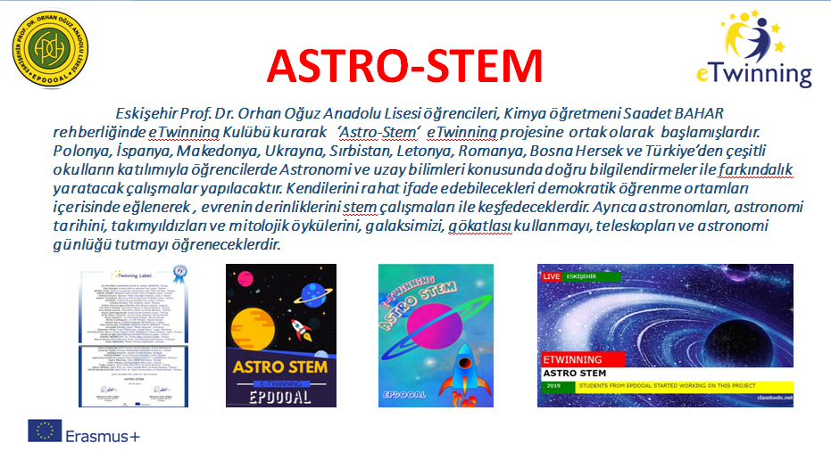 ASTRO-STEM OUR PROJECT STORY by SAADET BAHAR - Illustrated by SAADET BAHAR - Ourboox.com