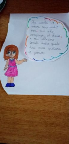 Saluti…….speciali by Antonella Aimaro - Illustrated by Classe 5^ D- anno sc. 19/20 - Ourboox.com