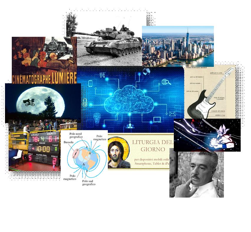 INTRODUZIONE Questo libro tratta la tecnologia legata alle varie materie, partendo dal '900 fino al giorno d'oggi. La tecnologia ha cambiato radicalmente il mondo, infatti questo elaborato ci mostrerà esattamente come essa si sia evoluta nel corso del tempo.
