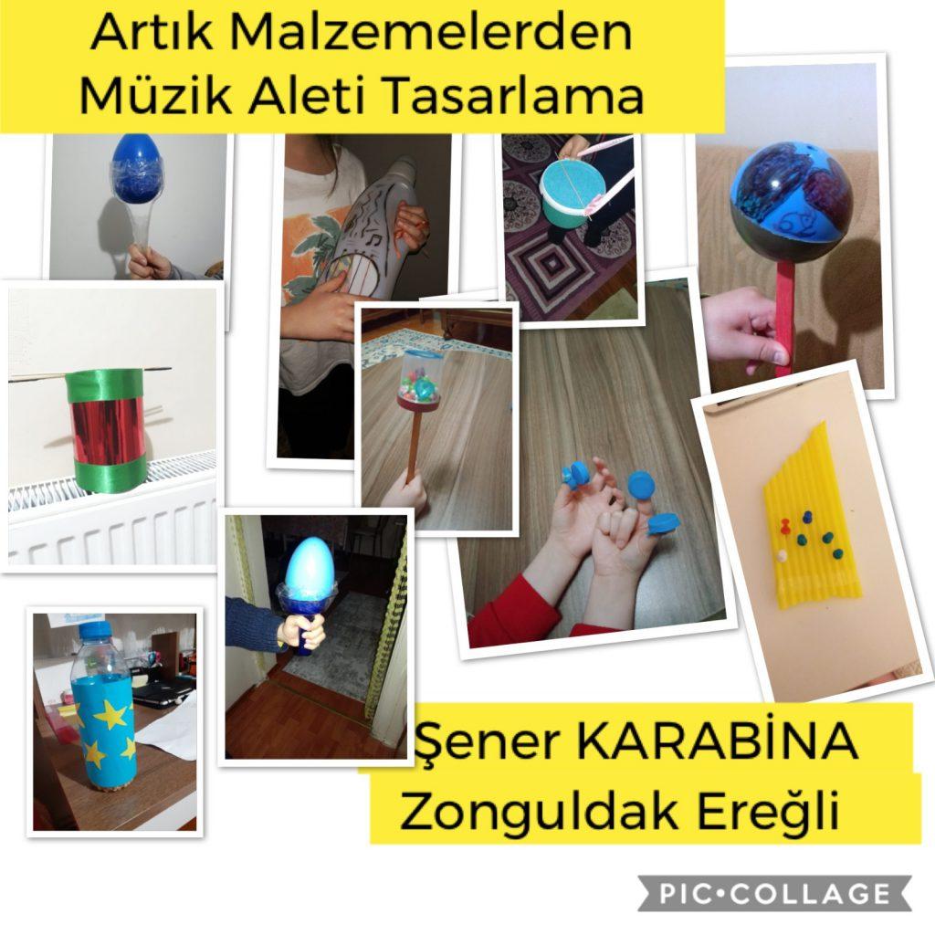 Enstrüman Çalışmalarımız by ZÖHRE GÜL UĞUR - Illustrated by Zöhre Gül UĞUR  - Ourboox.com