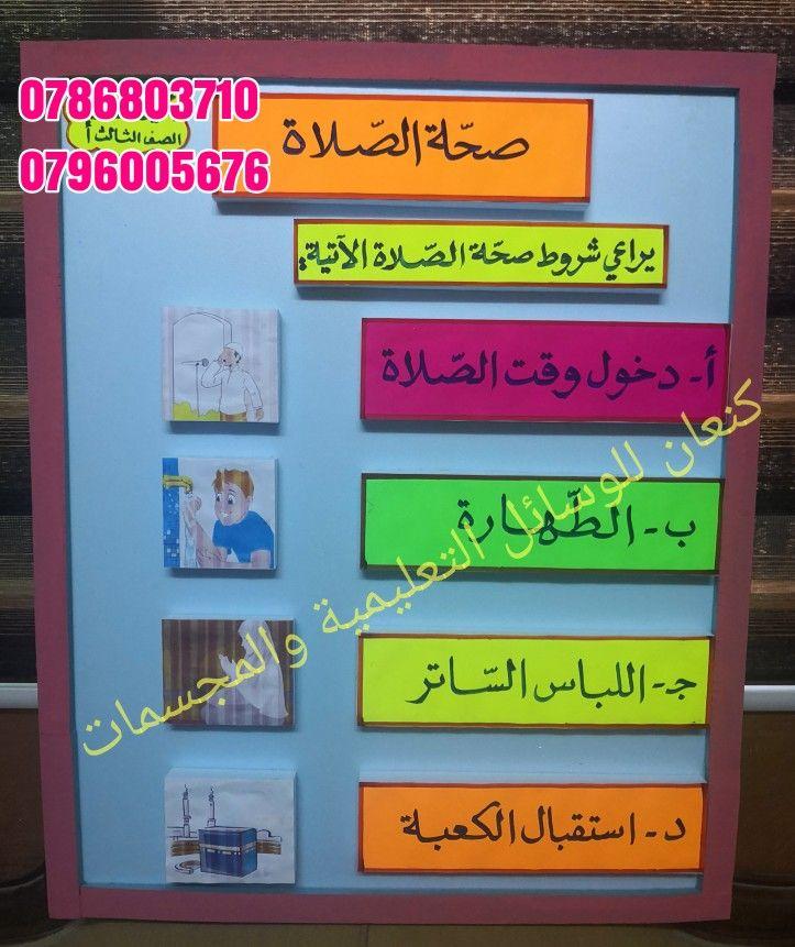 واجبات وشروط صحَّة الصَّلاة by shereen abu hani - Ourboox.com