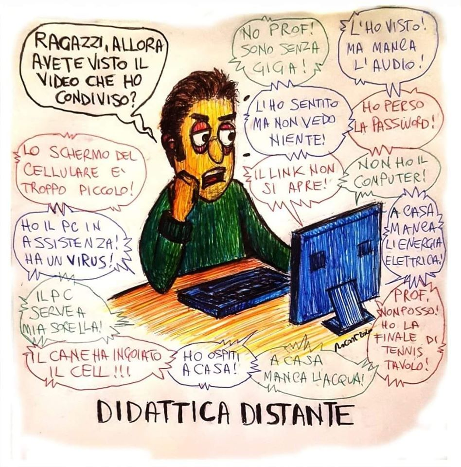 Didattica a distanza by Stefania valerio - Illustrated by Valerio Stefania - Ourboox.com