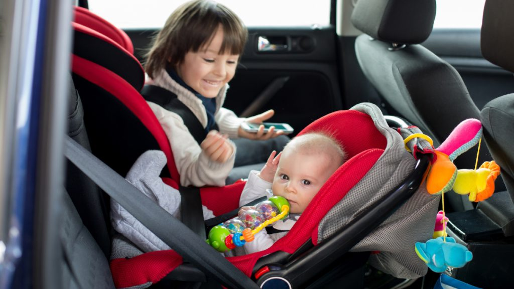 Taxi With Baby Seat by Melbourne Corporate Cars - Illustrated by Melbourne Corporate Cars - Ourboox.com