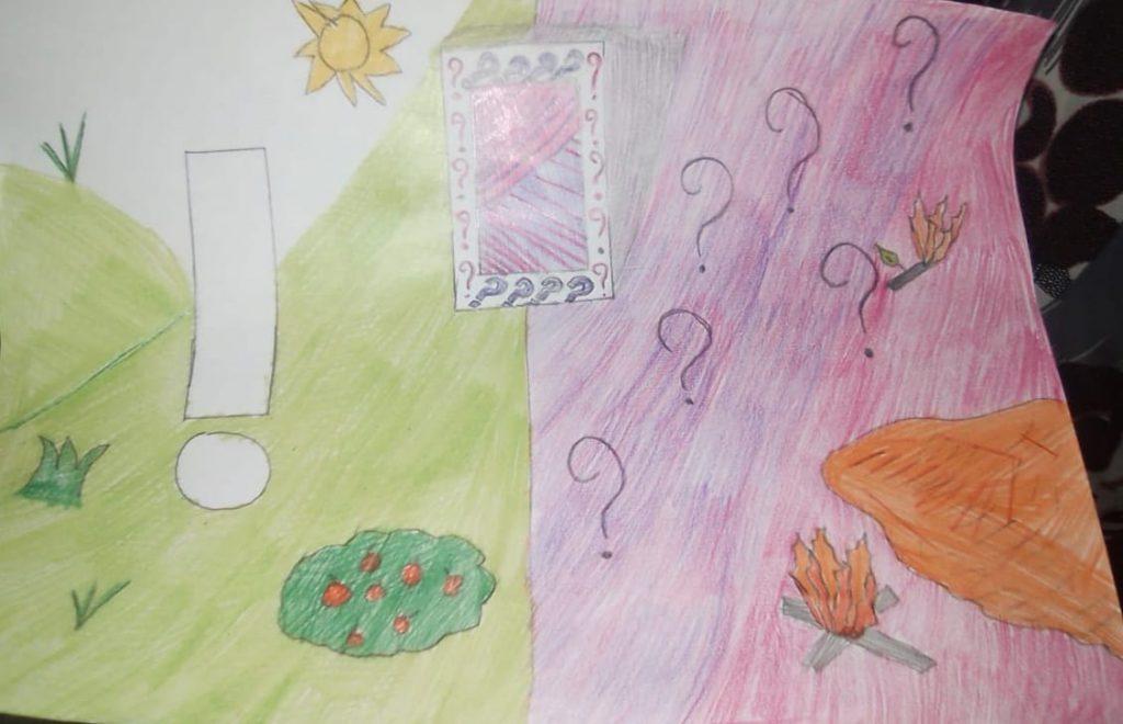 """La scuola al tempo del """"coronavirus"""" by Lucia Di Maso - Illustrated by Di Maso Lucia - Ourboox.com"""