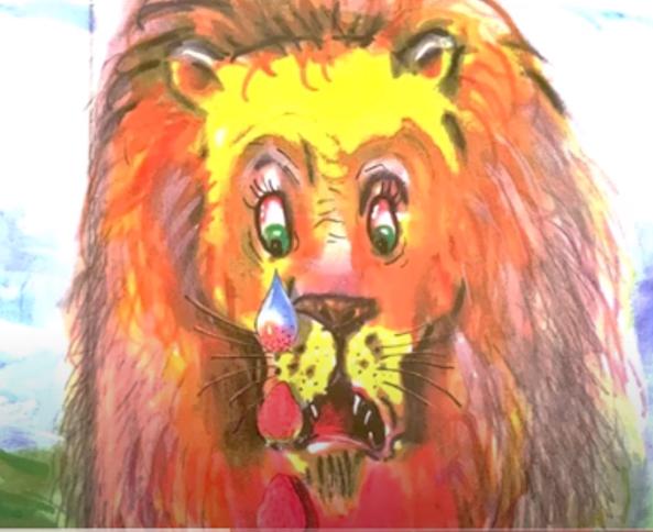 האריה שאהב תות by Yaala Dana - Illustrated by דני קרמן - Ourboox.com