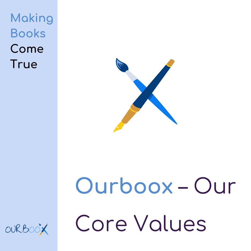 Ourboox – Our Core Values by Mel Rosenberg - מל רוזנברג - Ourboox.com