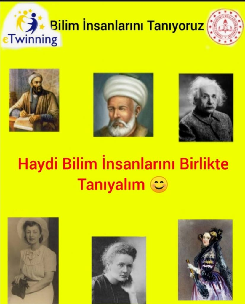 BİLİM İNSANLARINI TANIYORUZ -WE KNOW THE SCIENCE PEOPLE by Pınar - Ourboox.com