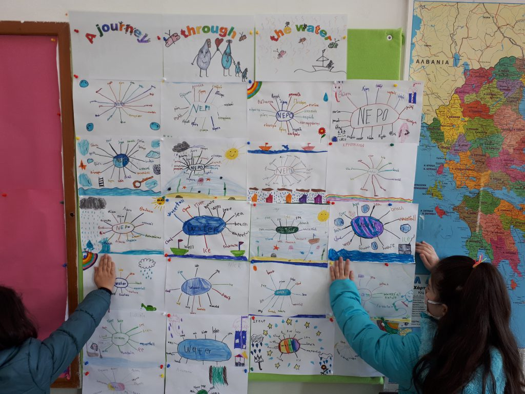 OUR DRAWINGS ABOUT WATER
