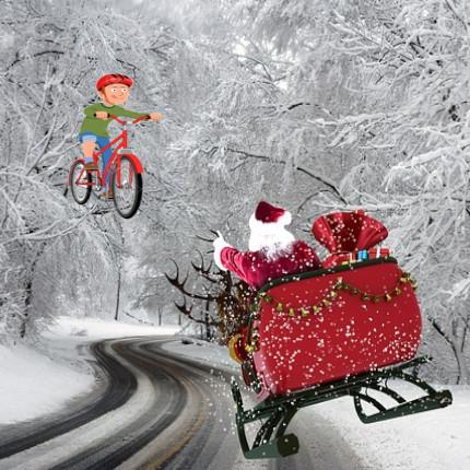 La bicicletta di Babbo Natale by fiab Cremona - Ourboox.com