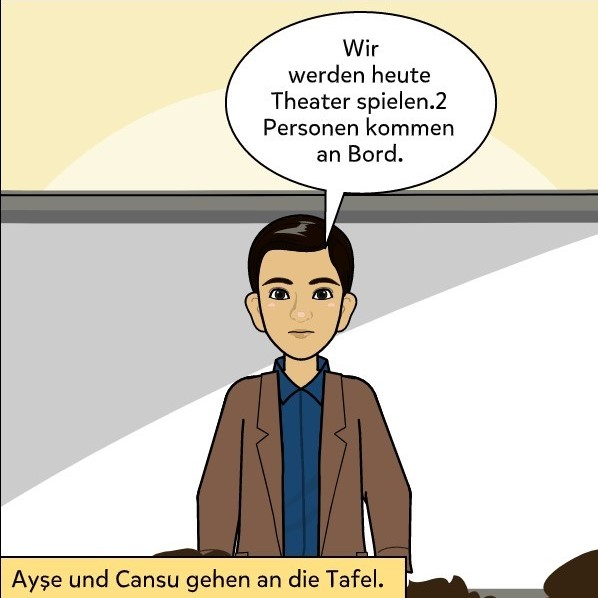 Theater by Cansu Şen - Illustrated by 9/A 09 Cansu Şen - Ourboox.com