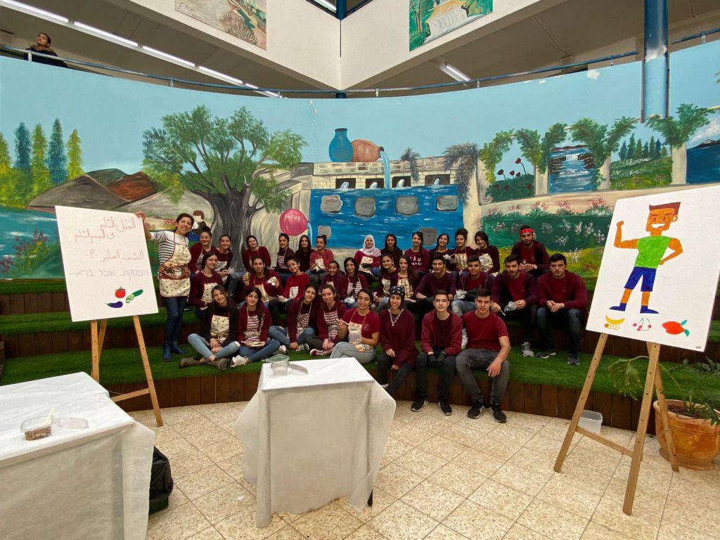בית ספר מקיף שש שנתי עתיד פקיעין by rawia swed - Illustrated by מורים  - Ourboox.com