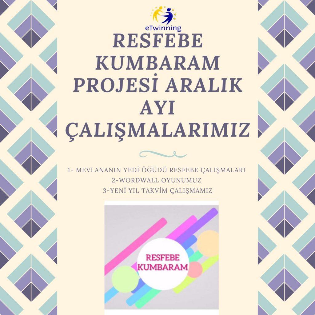 RESFEBE KUMBARAM PROJESİ ARALIK AYI ÇALIŞMALARIMIZ by Sevda S.Bedir - Ourboox.com