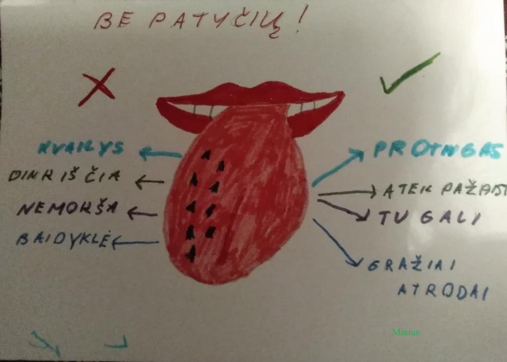 Liežuvį dresuoju, prieš išsižiodamas galvoju! by Mokytoja - Ourboox.com