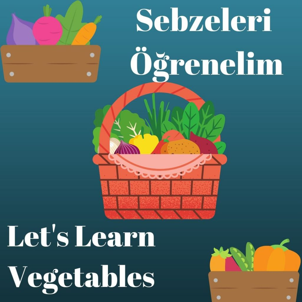 SEBZELERİ ÖĞRENELİM- LET'S LEARN VEGETABLES by sukran  - Illustrated by Şükran Yenigelen - Ourboox.com