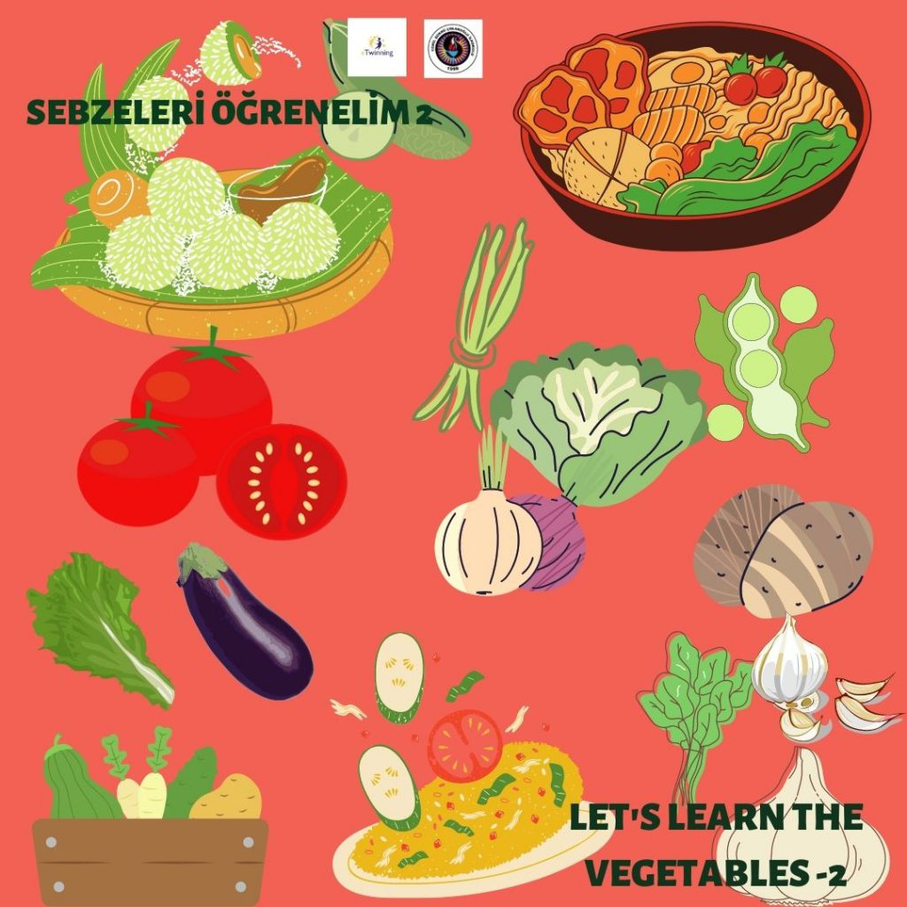 SEBZELERİ ÖĞRENELİM – 2 — LET'S LEARN THE VEGETABLES -2 by sukran  - Illustrated by Şükran Yenigelen - Ourboox.com
