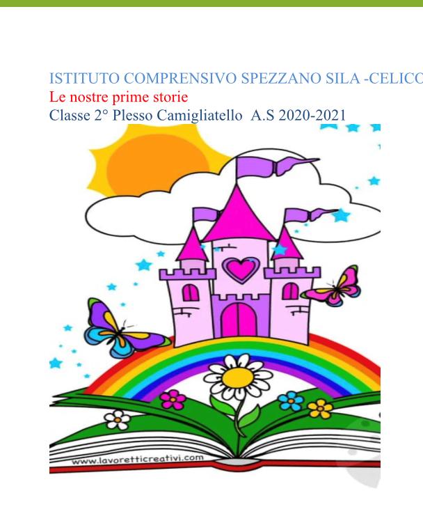 Le nostre prime storie by FILOMENA GRECO - Ourboox.com