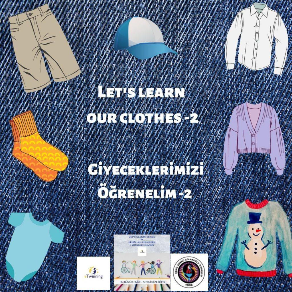 Giyeceklerimizi Öğrenelim – Let's Learn What to Wear -2 by sukran  - Illustrated by Şükran Yenigelen - Ourboox.com