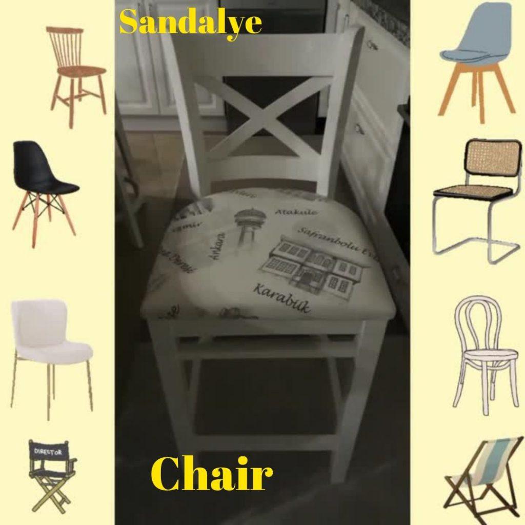 Evimizdeki Mobilyaları Öğrenelim – Let's Learn Furniture in Our Home by sukran  - Illustrated by Şükran Yenigelen - Ourboox.com