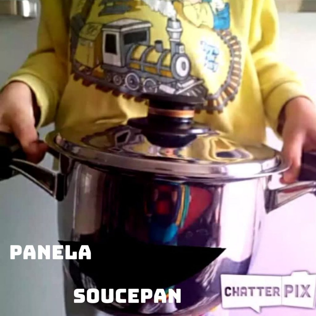 Vamos aprender os utensílios de cozinha — Let's learn the kitchenware by gönüller bir olsun e Twinning project - Illustrated by Şükran Yenigelen & Carla Cordeiro - Ourboox.com