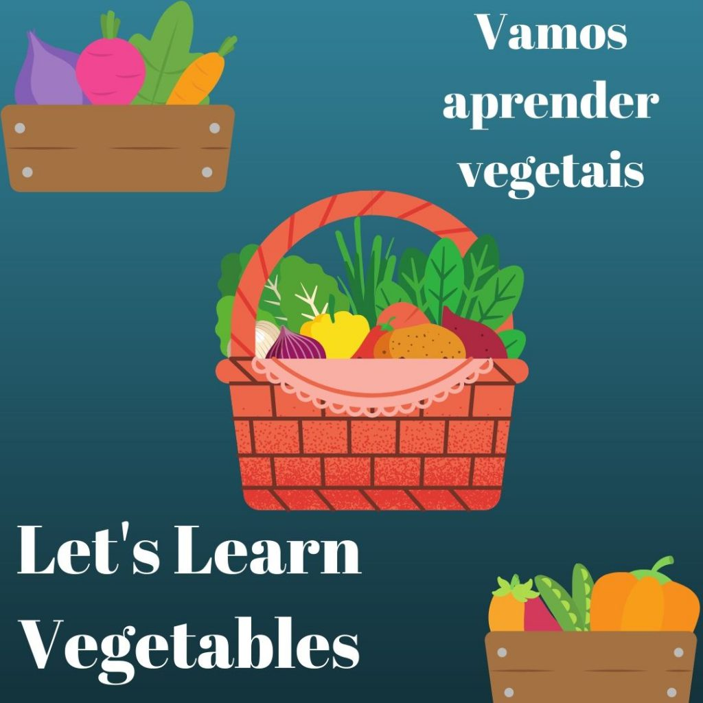 Vamos aprender os vegetais–Let's learn the vegetables by gönüller bir olsun e Twinning project - Illustrated by Şükran Yenigelen & Carla Cordeiro - Ourboox.com