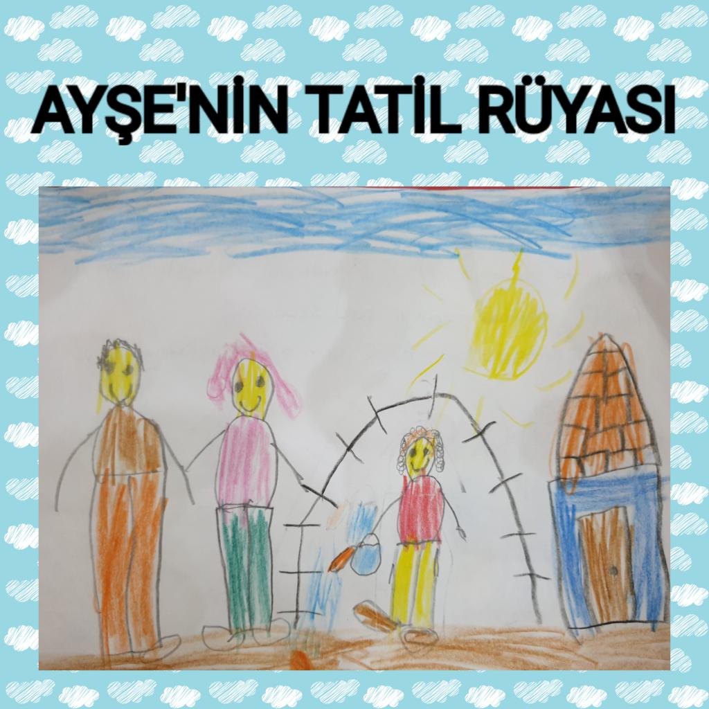 AYŞE'NİN TATİL RÜYASI by TUĞBA KAVUT KINALI - Illustrated by TUĞRA AYAZ K. - Ourboox.com