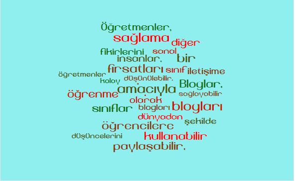 NURİYE ALTUN-Blogger Ödevi'ne İlişkin Görüşler by nuriyealtun - Illustrated by Nuriye Altun - Ourboox.com