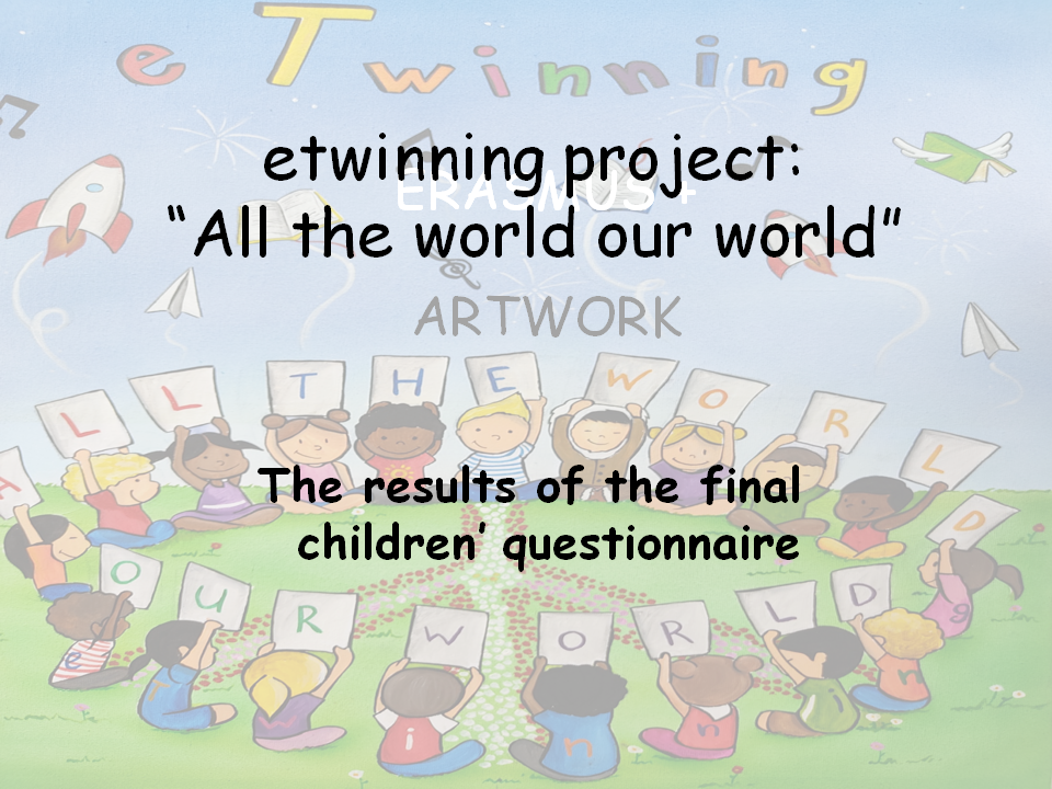 """final children's questionnaire: """"All the world our world"""" by Georgia Klo - Ourboox.com"""