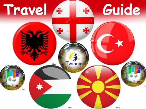 COLLABORATIVE TRAVEL GUIDE My eTwinning Journey by Aslı Yalçın - Ourboox.com