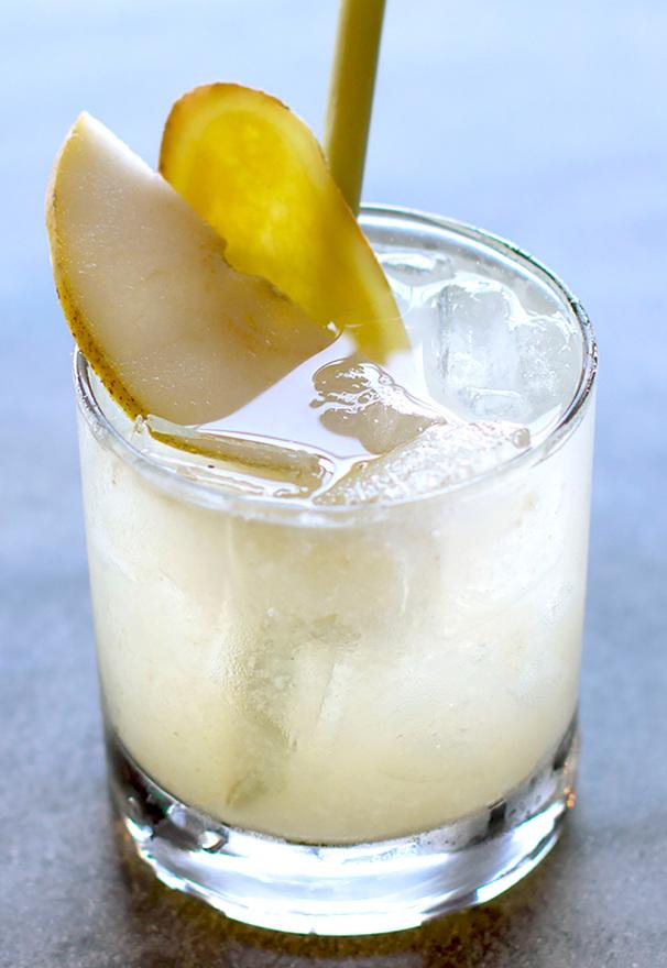 Lemongrass Pear Sour