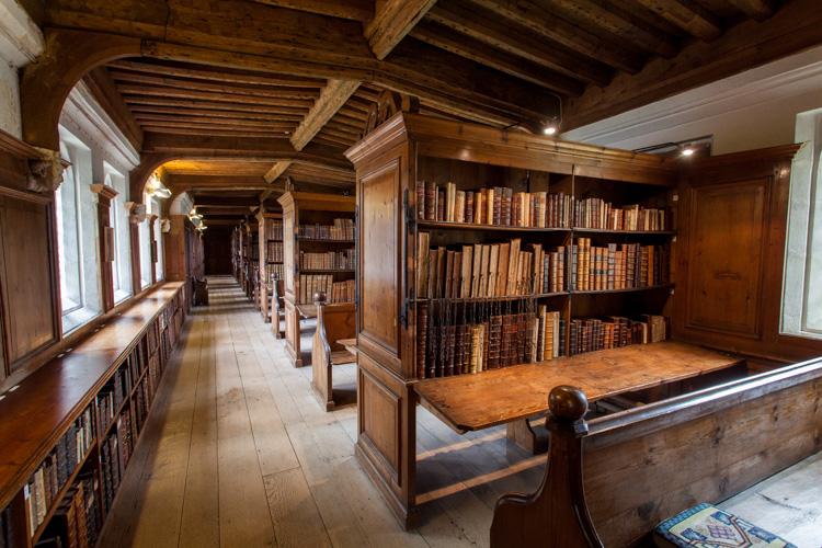 Katedrální knihovna ve Wellsu