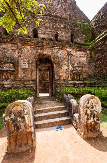 Chrám v Polonnaruwa