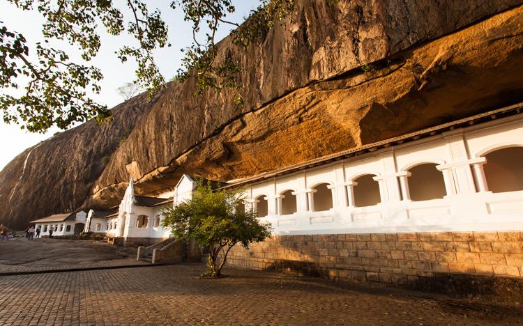 Skalní chrám v Dambulla