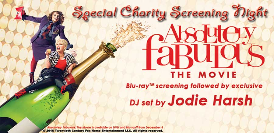 Darlings! Come along to GT's Ab Fab movie screening!