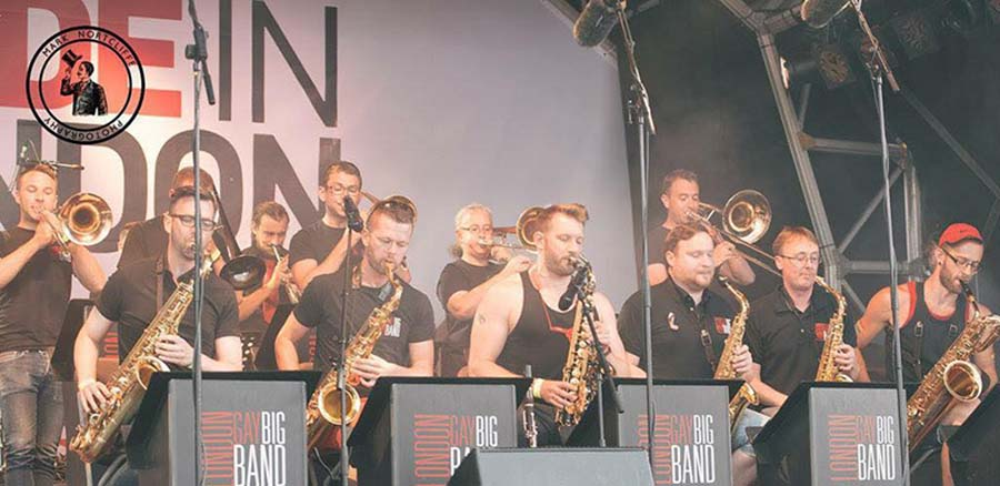 Get swingin' with the London Gay Big Band