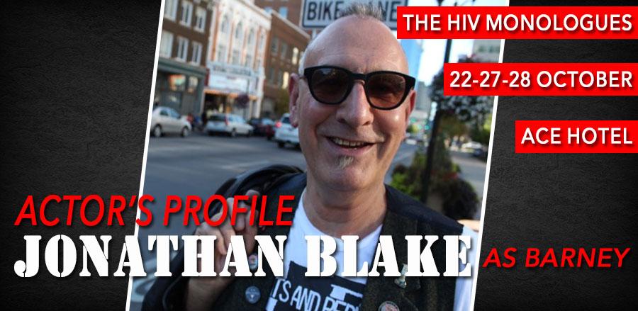 The HIV Monologues: Jonathan Blake