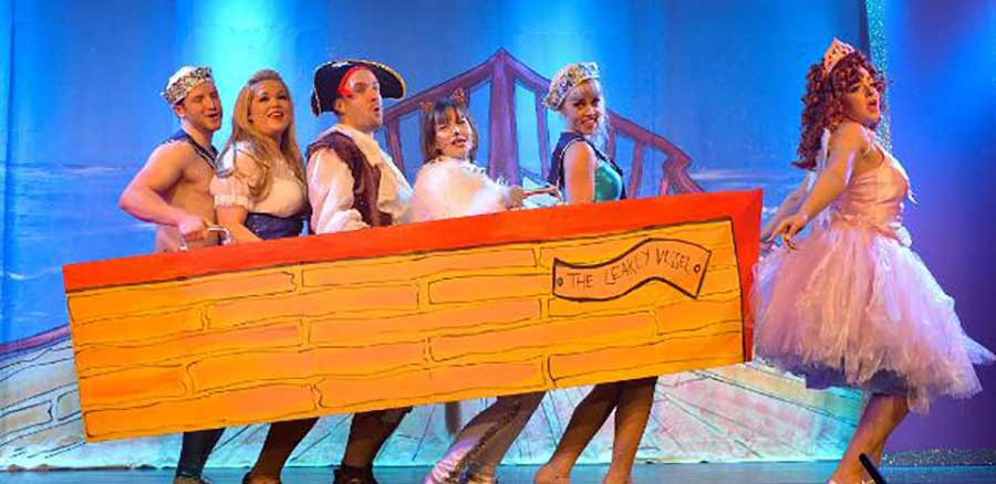 London's filthiest panto is back