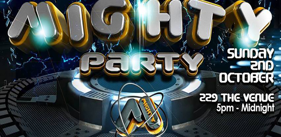 Mighty Party - This Sunday!