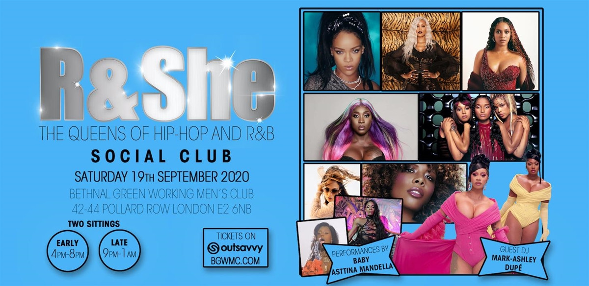 R & She Social Club tickets