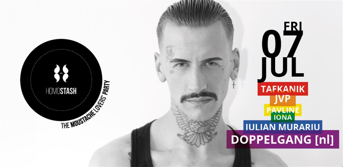 HOMOSTASH - Let's be PROUD! - featuring Doppelgang (Amsterdam) tickets