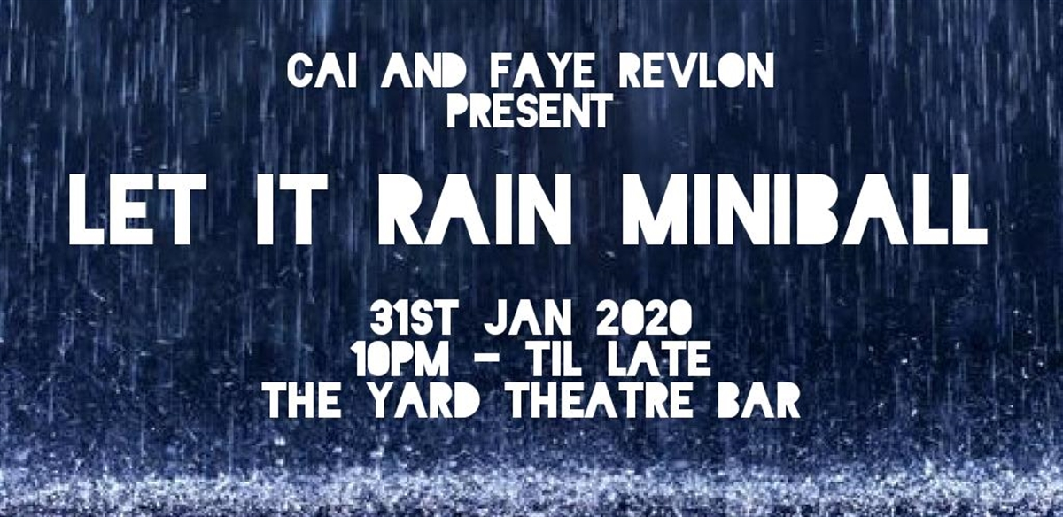 Let It Rain Miniball tickets