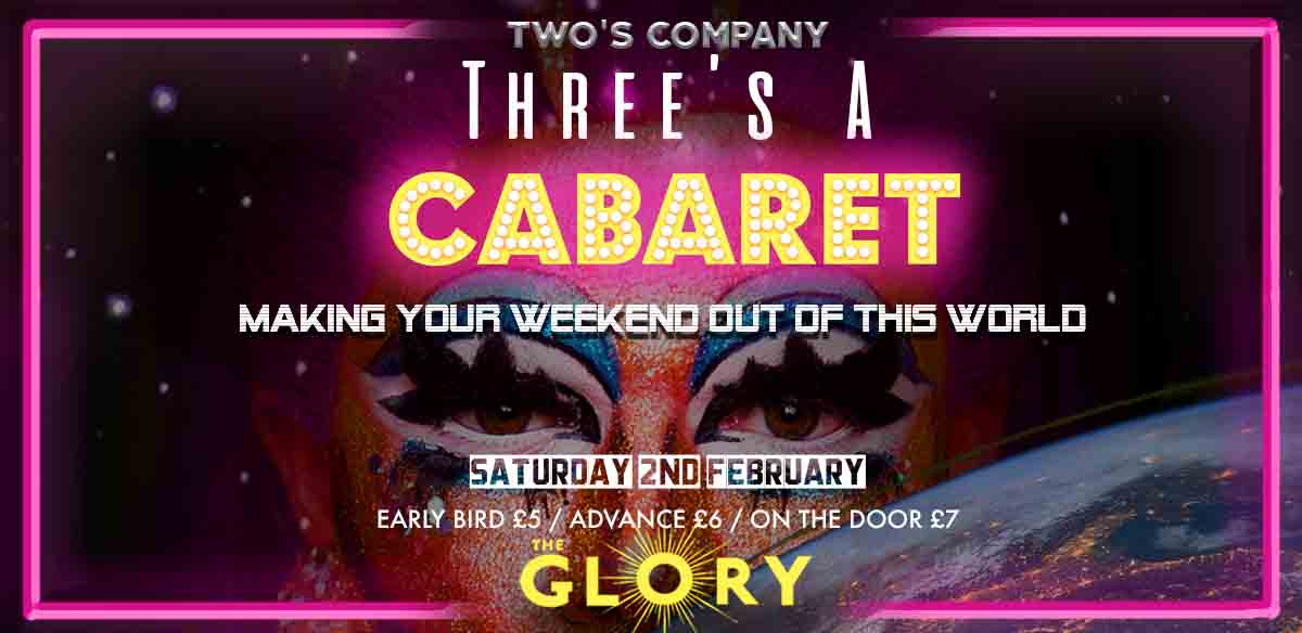 Three's A Cabaret tickets
