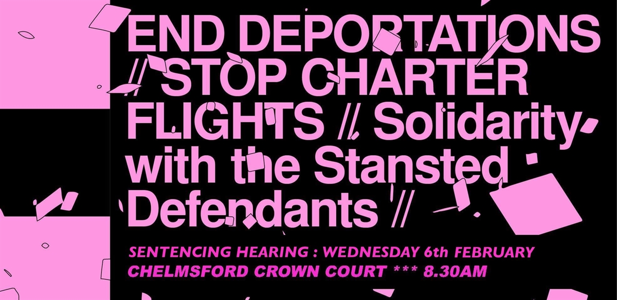Stansted 15 Solidarity Demo - London Coach - Wed 6th Feb tickets