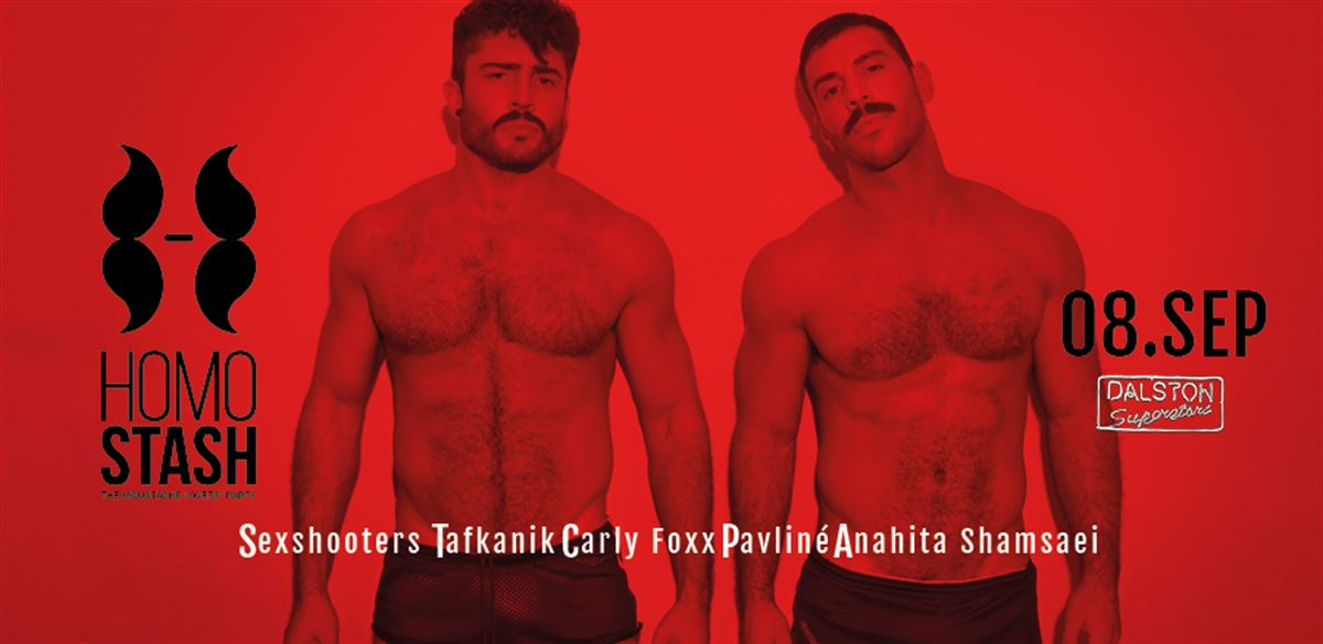 HOMOSTASH - Let's get sexual! - Guest DJs: SEXSHOOTERS tickets