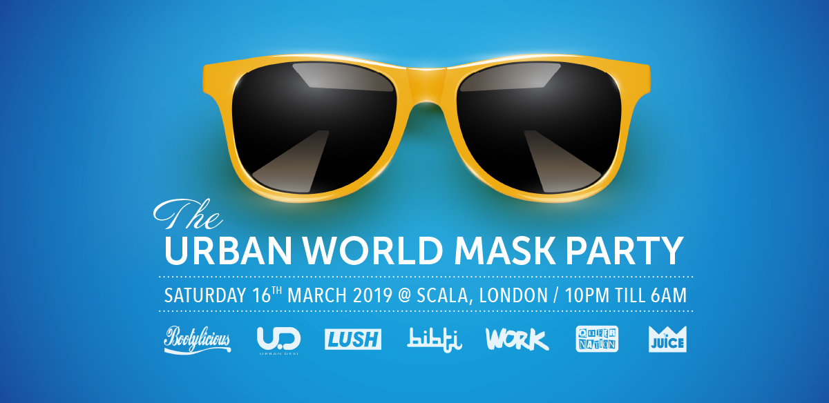 The Urban World Mask Party tickets