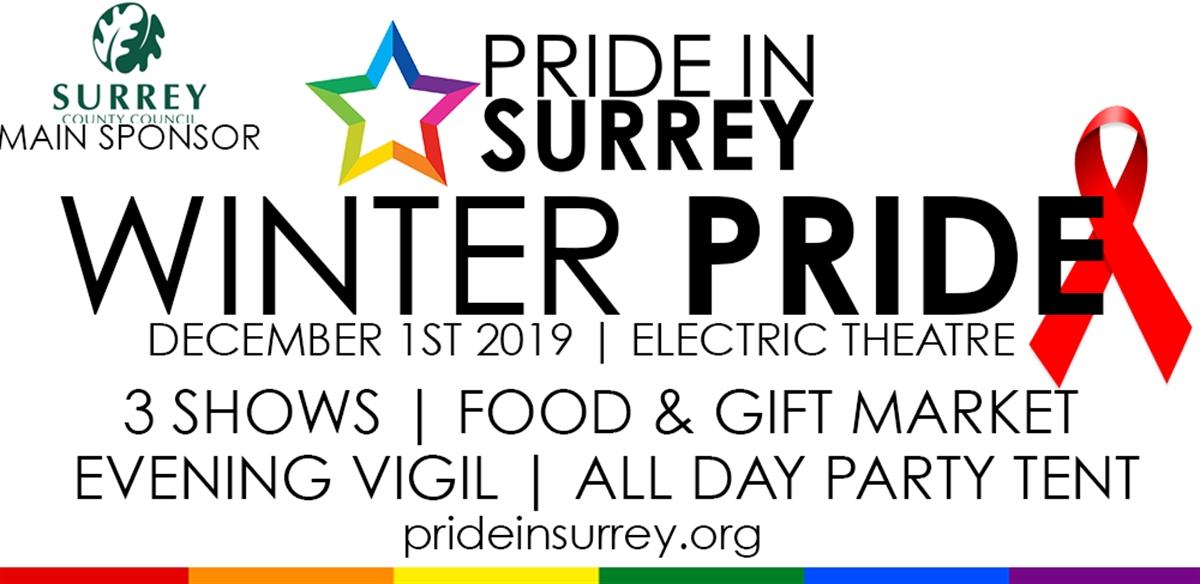 Winter Pride | Pride in Surrey tickets