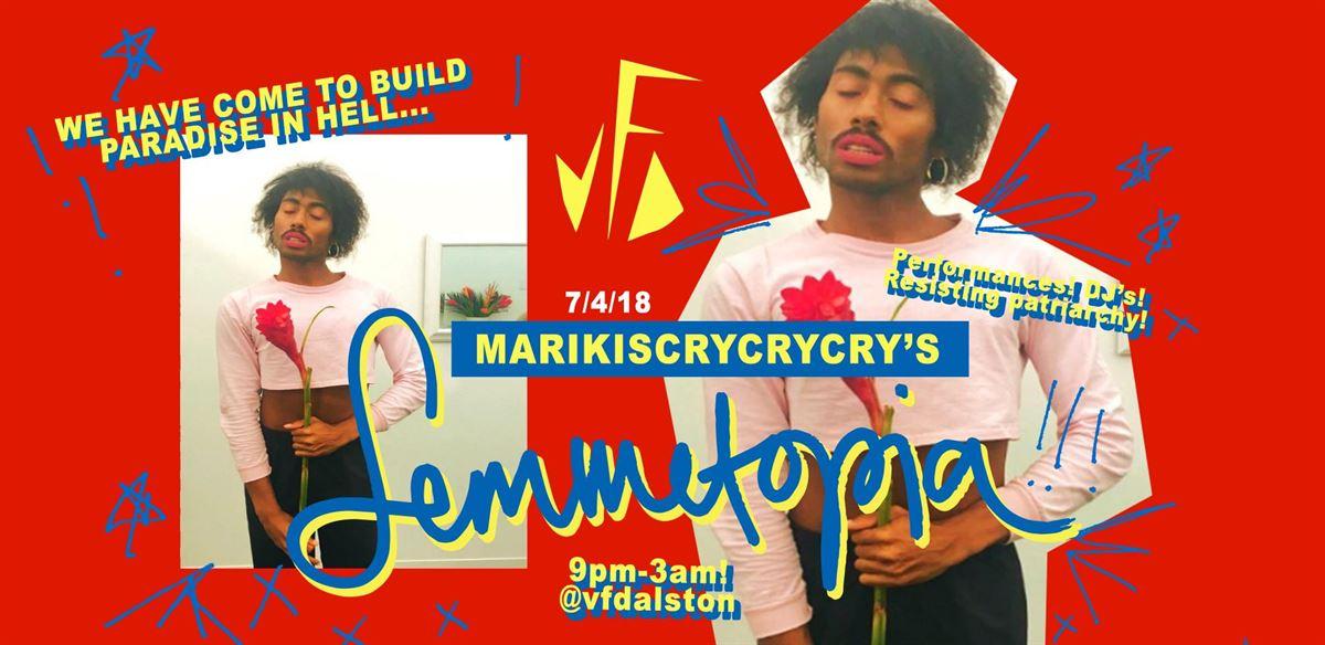 marikiscrycrycry's Femmetopia! tickets