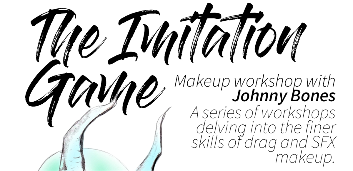 THE IMITATION GAME   Makeup workshop with Johnny Bones tickets