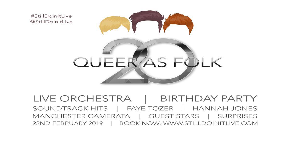 Queer As Folk 20; Still Doin' It Live! 2019 tickets