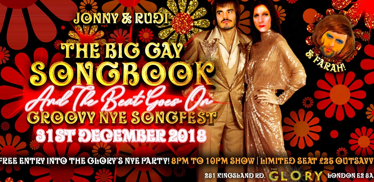 Big Gay Songbook - Groovy NYE Songfest tickets