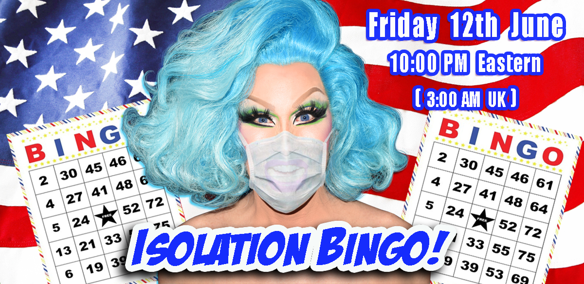 ISOLATION BINGO - USA Edition Late Show tickets